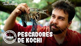 PESCADORES DE KOCHI | Coisas que Nunca Comi na Índia