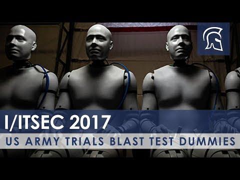 US Army Trials Blast Test Dummies