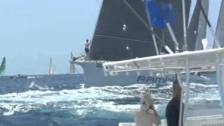 Superyacht Race - Les Voiles de Saint Barth 2011
