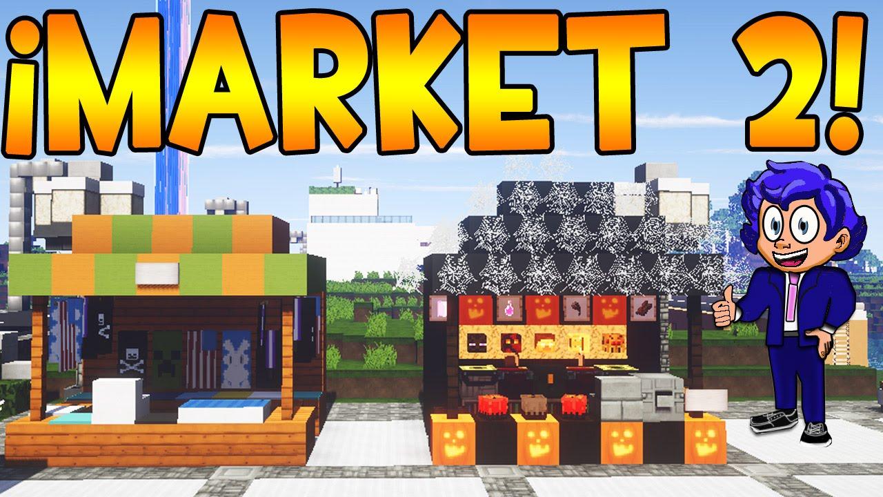 Mercado o market en minecraft parte 2 tutorial de for Blancana y mirote minecraft