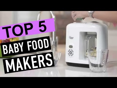 BEST 5: Baby Food Makers