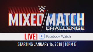 WWE to present Mixed Match Challenge, beginning Jan. 16, exclusively on Facebook Watch