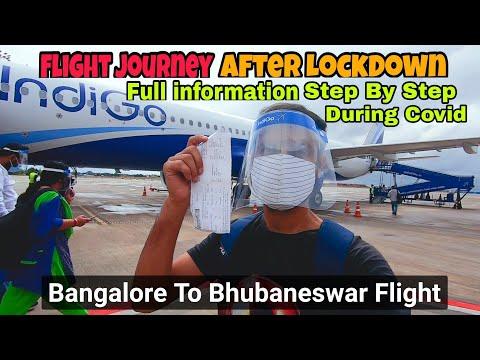 Kempegowda International Airport  Bengaluru ✈ Bhubaneswar | Flight Journey After Lockdown