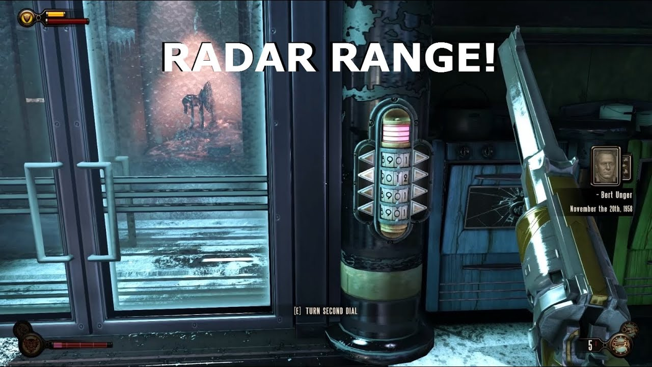 How to Unlock the Freezer Door To the Radar Range Weapon In