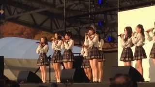 TOYOTA GAZOO Racing FESTIVAL 2014の会場で行われた、AKB48 Team8スペ...