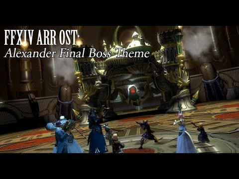 FFXIV OST Alexander Gordias Final Boss Theme ( Metal ) +Lyrics