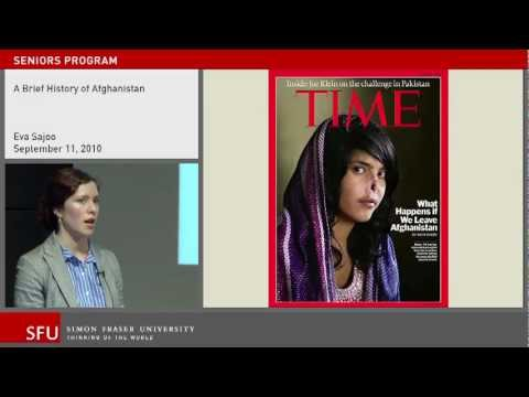 A Brief History of Afghanistan: SFU Continuing Studies lecture