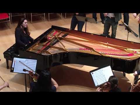 Philip Glass Piano Concerto No. 3 Rehearsal
