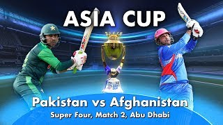 Pakistan vs Afghanistan: Preview