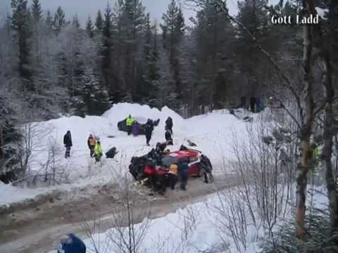 Rally Sweden 2015 Friday - Crash , Mistake and Max Attack in Snow