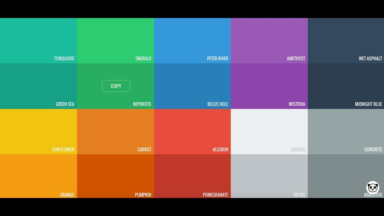 for selecting color code in design mobile web devolopment youtube