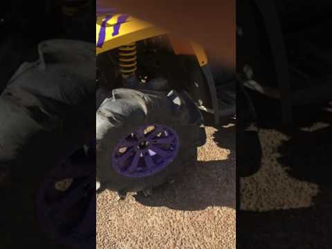 Can am 800 starter removal