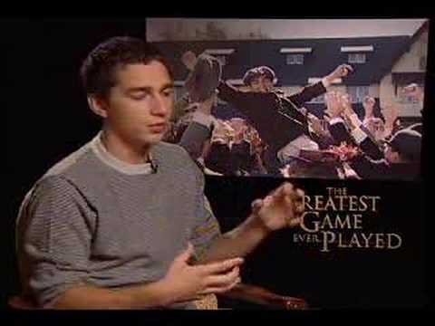 Shia LaBeouf  for The Greatest Game Ever Played