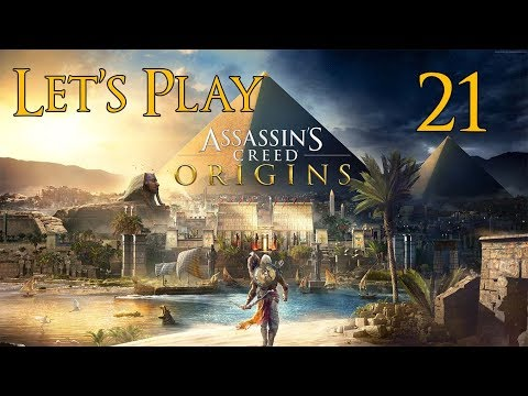Assassin's Creed Origins - Let's Play Part 21: The Lizard's Face