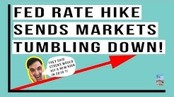 Fed Hikes Interest Rates and Market DROPS Immediately! 2019 Will Be A Disaster!