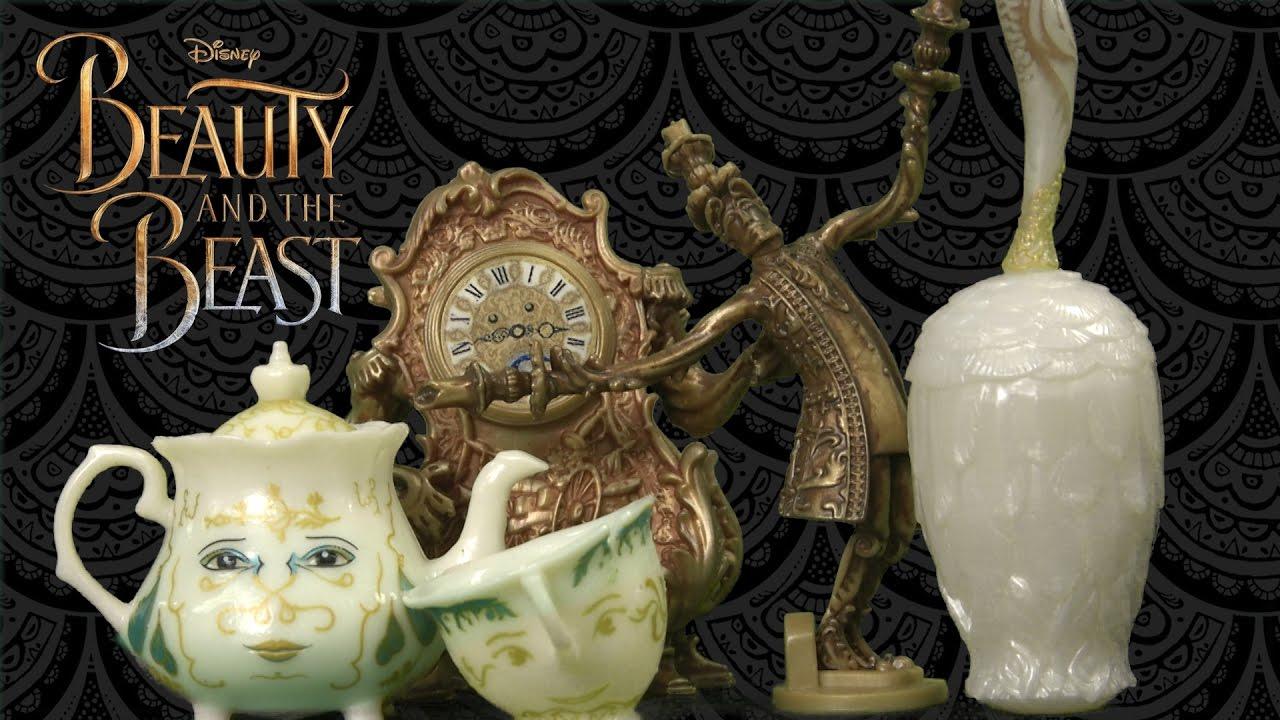 Disney Beauty and The Beast 2017 Enchanted Objects Tea Set Mrs Potts Chip