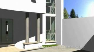 Repeat youtube video Diseños de casa moderna 3D, incluye planos de casas, Design house, virtual tour and Home & design