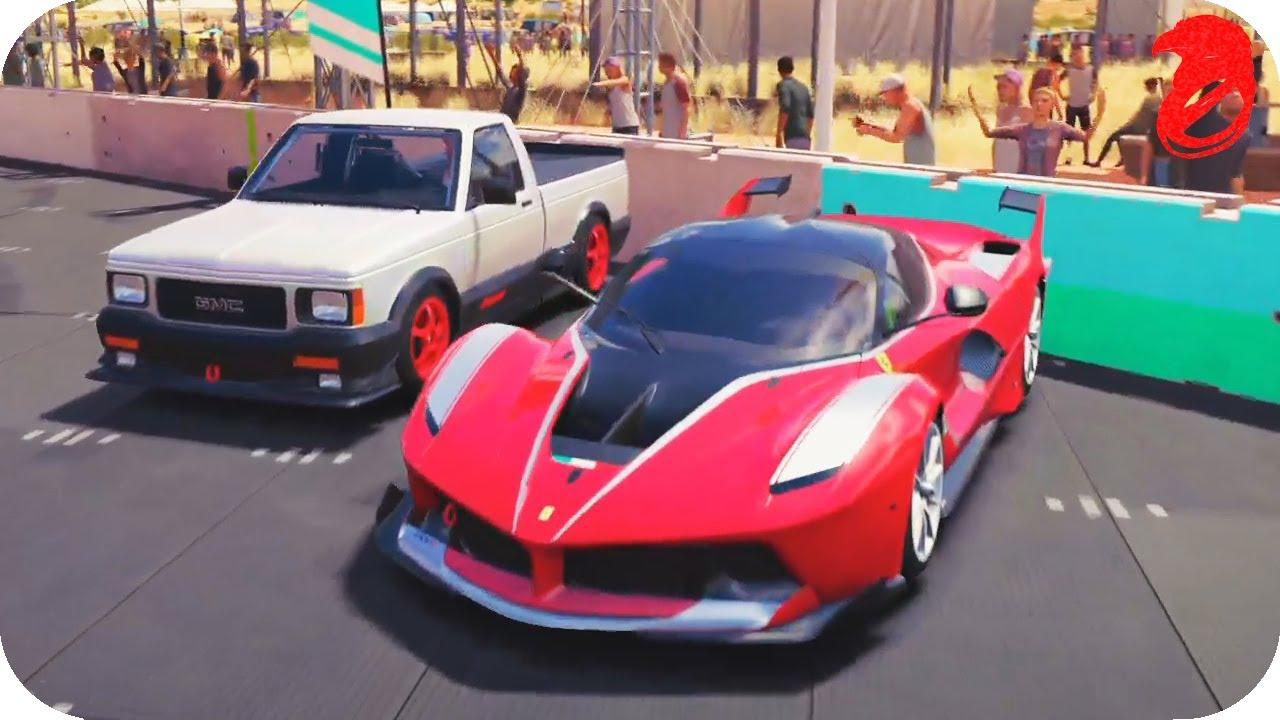Sleeper Vs Hypercar Gmc Syclone Vs Ferrari Fxxk Fh3 Youtube