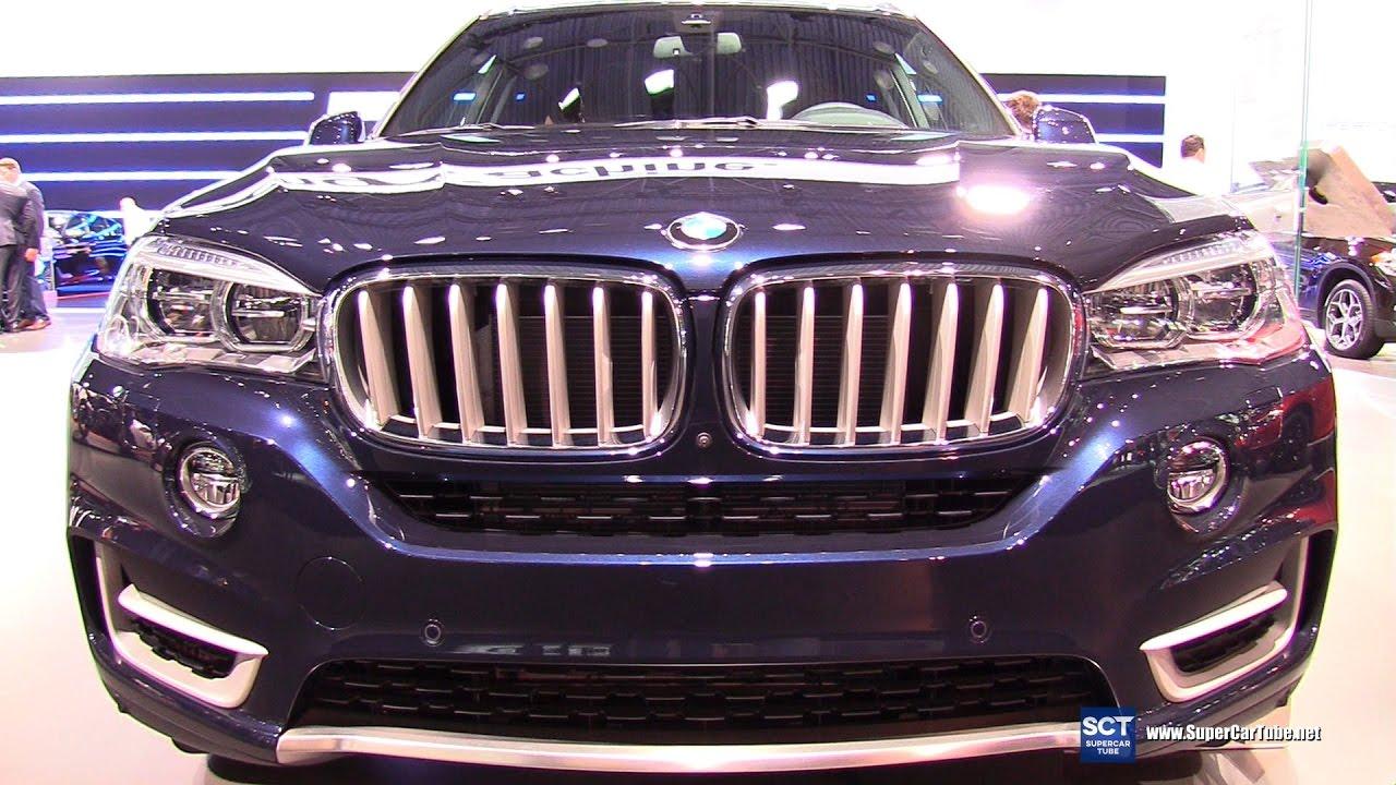 2017 Bmw X5 Xdrive50i Exterior And Interior Walkaround New York Auto Show
