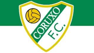 Bandera y Escudo del Coruxo Fútbol Club - Vigo (Pontevedra)