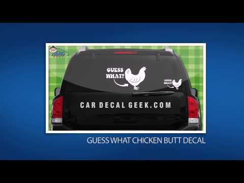 10 Freaking Awesome Car Decals & Stickers from Car Decal Geek