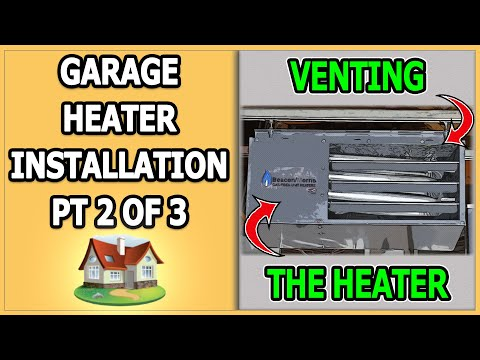Garage Heater Installation - Part 2 of 3 - YouTube on