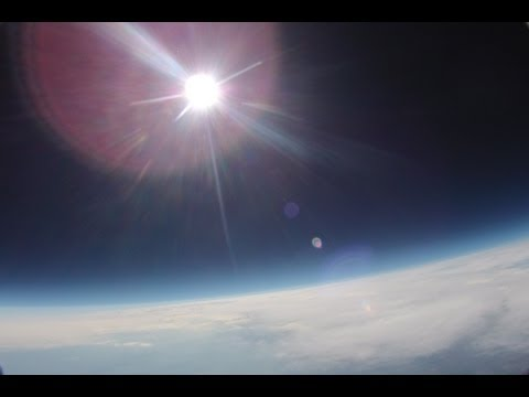 High Altitude Balloon in 1080 HD, 120,000 ft