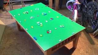 Build A Lego Play Table. Save $$$. How To By Mr Tims.