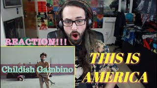 CHILDISH GAMBINO - This Is America (Official Video) REACTION & REVIEW!!!