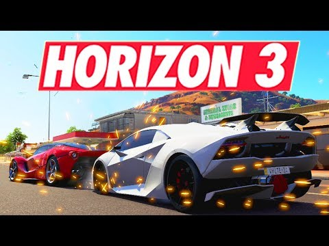 Forza Horizon 3 - COURSE RELAIS #1!!