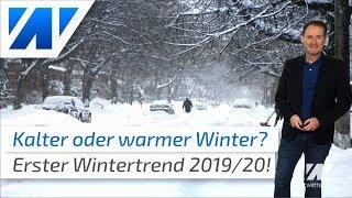 Eisiger Winter oder Mildwinter: Der Wintertrend 2019/2020!