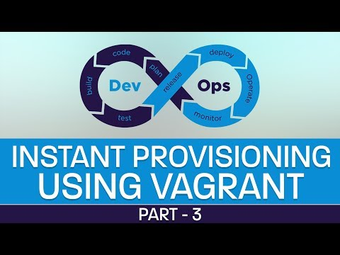 Learn Instant Provisioning using Vagrant in DevOps | DevOps Tutorial for beginners | Part3 | Eduonix