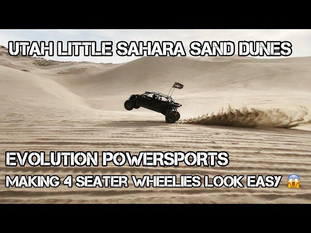 UTAH LITTLE SAHARA SAND DUNES CAN WE GET THAT ILLUSIVE 4 SEATER WHEELIE?