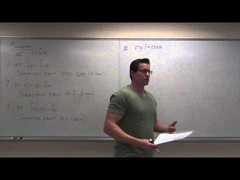Calculus 2 Lecture 10.4:  Using Polar Coordinates and Polar Equations