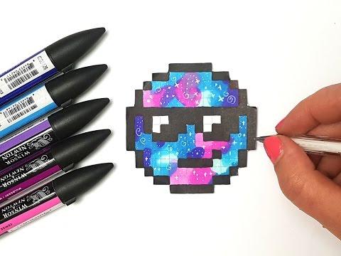 Pixel Art Facile Comment Dessiner Un Emoji Kawaii