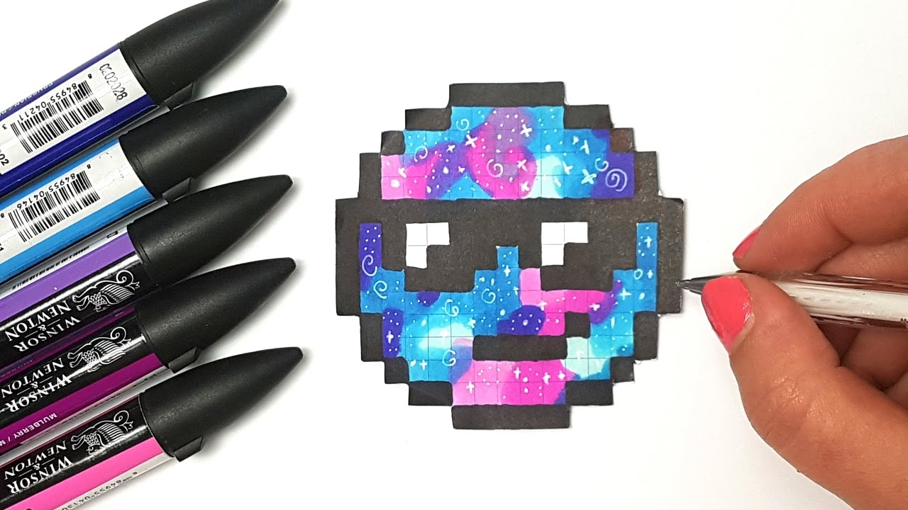 Pixel Art Facile Comment Dessiner Un Emoji Kawaii
