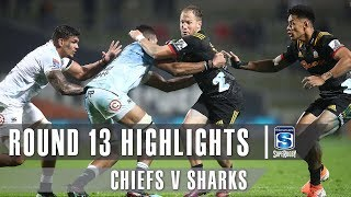 ROUND 13 HIGHLIGHTS: Chiefs v Sharks - 2019