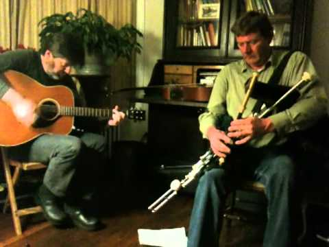 Michael Cooney Pat Egan Uilleann Pipes and  Guitar 2011
