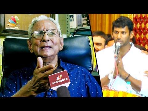 Court Shocking Order against Nadigar Sangam New Building : Lawyer Sri Rangan Interview | Vishal