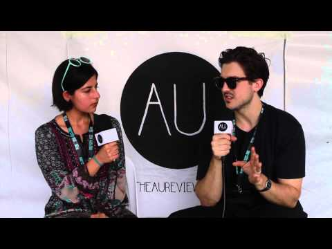 Interview: Andy Bull at Groovin' The Moo (Maitland 2014)