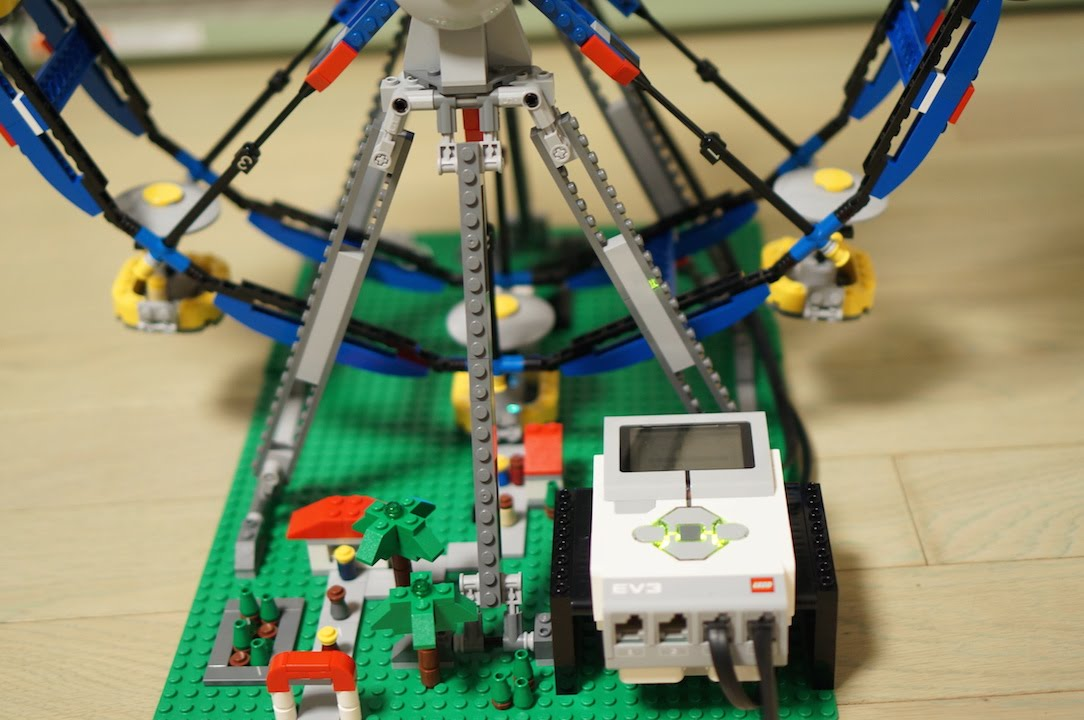Lego Mindstorms Ev3 4957 Ferris Wheel Lucky Lottery Numbers By