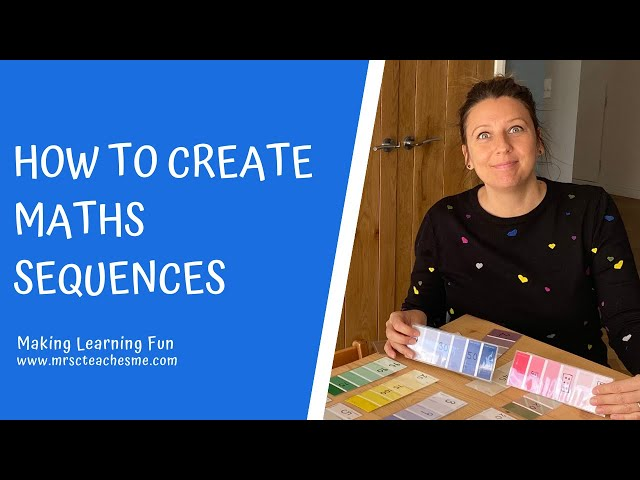 How to create maths sequences