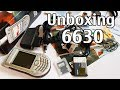Nokia 6630 Unboxing 4K with all original accessories RM-1 review