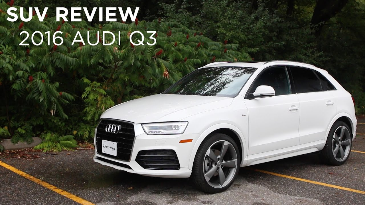 suv review 2016 audi q3 youtube. Black Bedroom Furniture Sets. Home Design Ideas