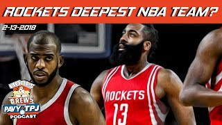 Rockets Deepest Team In NBA? | Hoops N Brews thumbnail