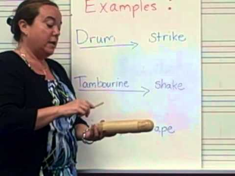 What is a Percussion Instrument?