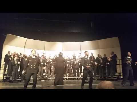 United States Naval Academy Gospel Choir Dance