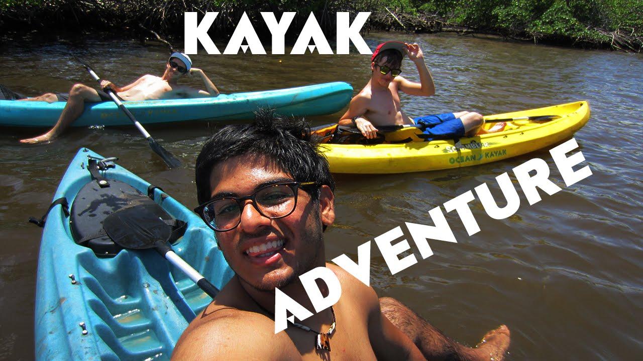 KAYAK ADVENTURE IN MIAMI - YouTube