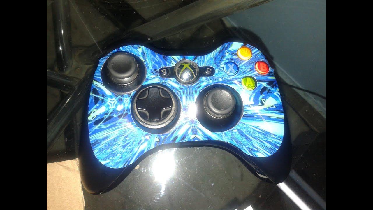 Top Skin Xbox 360 Controller Skin YouTube