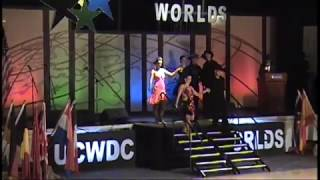 shaun parr and mallaurie gysels ucwdc worlds 2017 division 1 champions east coast swing